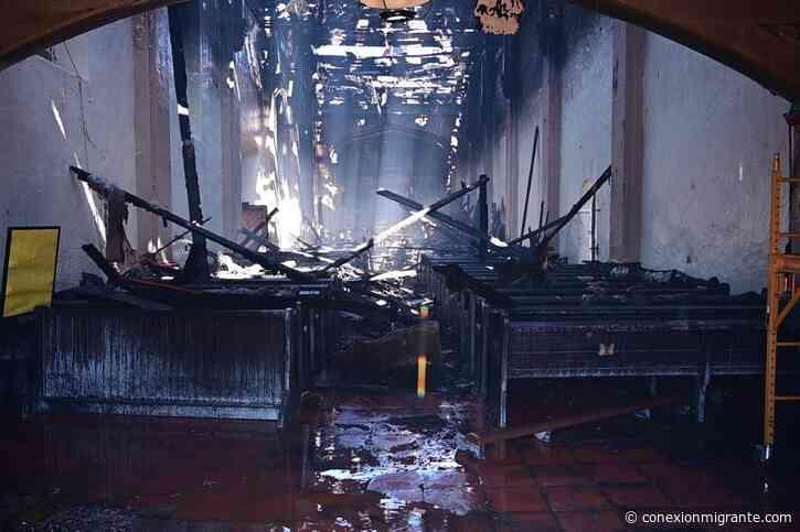 Un incendio dañó la histórica Misión de San Gabriel, en California - Conexión Migrante