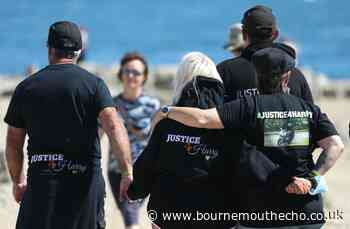 Harry Dunn's ashes scattered in Weymouth - Bournemouth Echo
