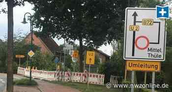 Straßen Sanierung LK Cloppenburg: 15 Millionenn für Landesstraßen - Nordwest-Zeitung