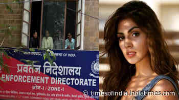 Sushant Singh Rajput death case: ED to summon Rhea Chakraborty next week in money laundering case