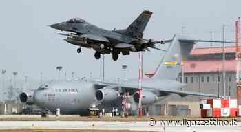 Dalla base di Spangdahlem ad Aviano, sono 28 gli F-16 americani in arrivo - Il Gazzettino