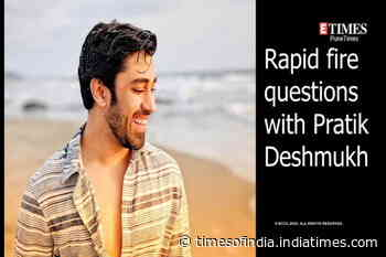 Rapid Fire with Pratik Deshmukh