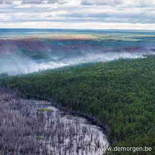 Giftige rook trekt over Siberische stad door bosbranden