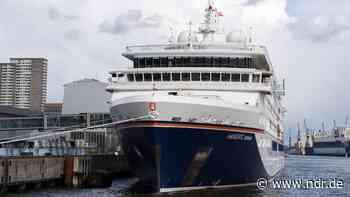 """Kreuzfahrtschiff """"Hanseatic nature"""" kommt nach Wismar - NDR.de"""
