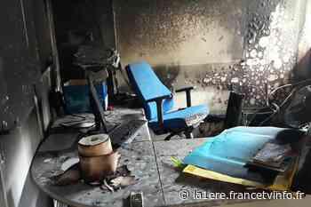 Saint-Claude : Violent incendie au collège Rémy NAINSOUTA - Guadeloupe la 1ère - Outre-mer la 1ère