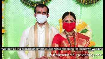We took all the precautionary measures while shopping for the wedding says Archana Nipankar