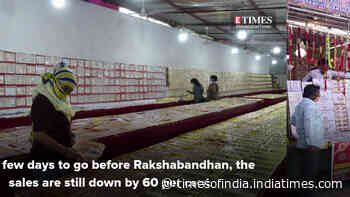 Seasonal markets wait for good biz ahead of Raksha Bandhan
