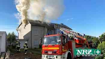 Dachstuhl brennt in Brilon ab – Die Polizei zur Brandursache - NRZ