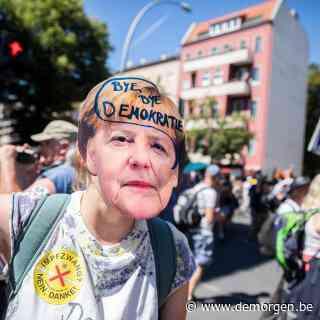 Meer dan 15.000 betogers op straat tegen coronamaatregelen in Berlijn