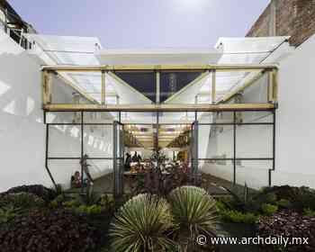 Mercado de Artesanías Tlaxco / Vrtical - ArchDaily México