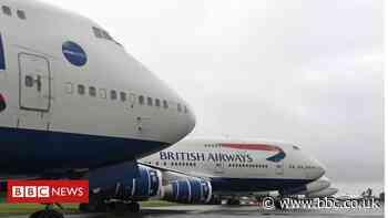 BA staff and plane fanatics hunt for 747 souvenirs