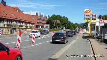 Bauarbeiten in Herzberg: Kaum Stau auf Kreuzung B243/Sieberstraße - HarzKurier