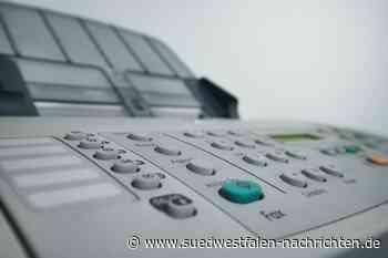 Aktuelle Fax-Anzeigenaufträge kommen nicht von der Stadt   Warstein - Südwestfalen Nachrichten   Am Puls der Heimat.