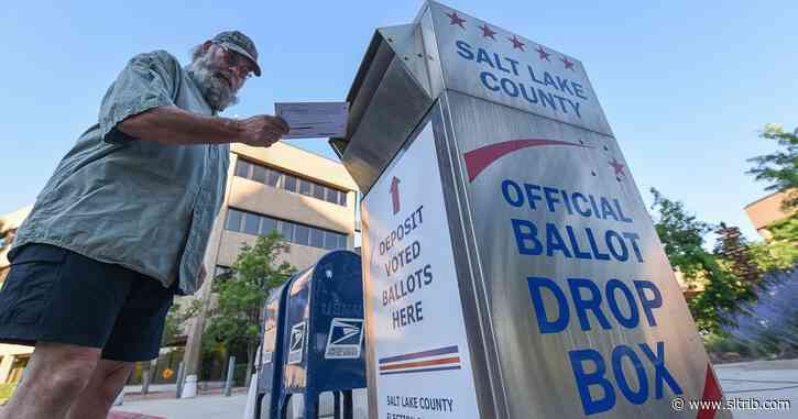 While President Trump and national GOP sound alarm on voting by mail, red Utah embraces it