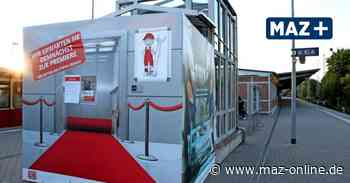 Stillstand kurz vor der Sicherheits-Abnahme des neuen Fahrstuhls am Bahnhof Hennigsdorf - Märkische Allgemeine Zeitung