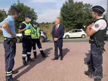 Bonneville-sur-Touques : Gros dispositif des forces de l'ordre pour le chassé-croisé des vacances - actu.fr