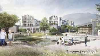 La construction de l'écoquartier de Bonneville avance à grand pas - Les Échos