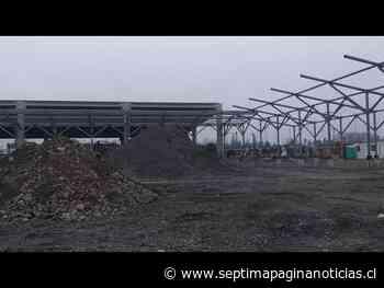 Avanza construcción de nuevo terminal de buses en Linares - Septima Pagina