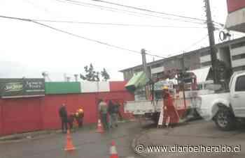 Linares: Choque de vehículo generó problemas viales - Diario El Heraldo Linares