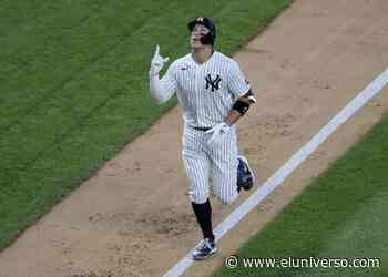 Jonrón de Aaron Judge en la victoria 5-1 de los Yankees sobre Medias Rojas en las Grandes Ligas - El Universo