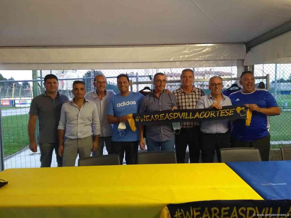 Presentato lo staff tecnico e i giocatori dell'U.S. Villa Cortese - Sempione News
