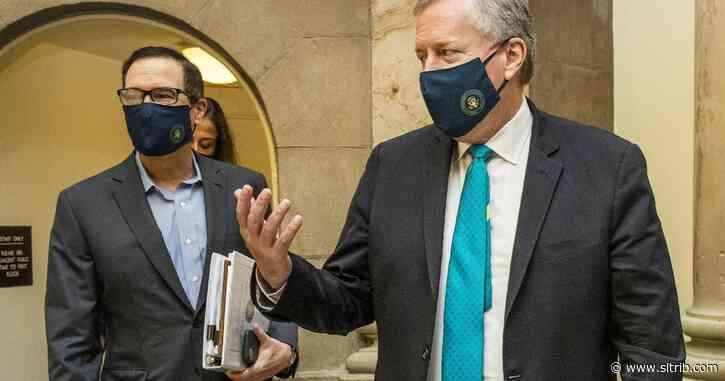 Negotiators huddle in Capitol after $600 benefit expires