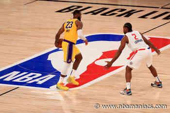 Un palmeo de LeBron da a los Lakers la victoria en la reanudación de la temporada - Nbamaniacs