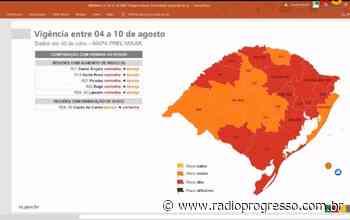 Regiões de Santo Ângelo, Santa Rosa e Palmeira das Missões voltam a ter indicação de bandeira vermelha para Covid-19 - Rádio Progresso de Ijuí