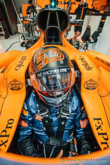 Carlos Sainz: «Ha sido una clasificacion buena desde el punto de vista del coche». - MomentoGP