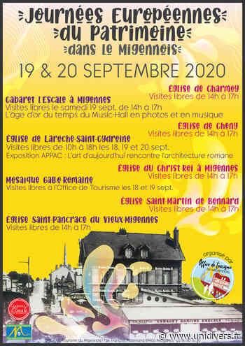 Visitez l'église Saint-Pancrace du vieux Migennes Église Saint-Pancrace du Vieux-Migennes samedi 19 septembre 2020 - Unidivers