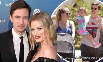 Topher Grace and wifeAshley Hinshaw welcome their second child