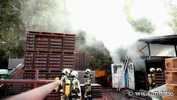 Gera: Wiederholt Feuer in Gewerbepark ausgebrochen - MDR