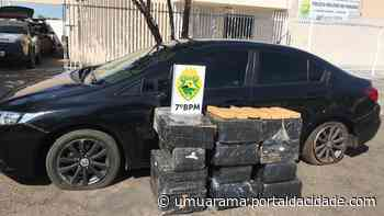 Carga de 271 quilos de maconha vinda de Umuarama é apreendida em Moreira Sales - ® Portal da Cidade   Umuarama
