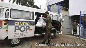 Centro Pop recebe agasalhos para atender moradores de rua de Umuarama - ® Portal da Cidade   Umuarama