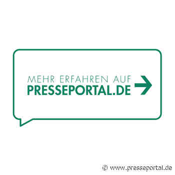 LPI-J: Medieninformation der PI Apolda für den Zeitraum vom 30.07.20, 06:00 Uhr, bis 31.07.20, 07:30 Uhr - Presseportal.de