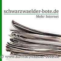 Niedereschach: Rotes Kreuz bei jedem Heimspiel auf dem Platz - Niedereschach - Schwarzwälder Bote