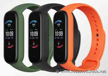 """Huami Amazfit 6 leaked: Global """"York"""" variant of the Xiaomi Mi Band 5 with blood oxygen monitor, Amazon Alexa, and 24-hour heart-rate tracking - Notebookcheck.net"""