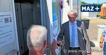 Ludwigsfelde: Duschcontainer gehen mit Verspätung in Betrieb - Märkische Allgemeine Zeitung