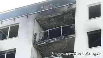 Ursache noch unklar: Hochhausbrand in Meerbusch - eine Tote, mehrere Verletzte