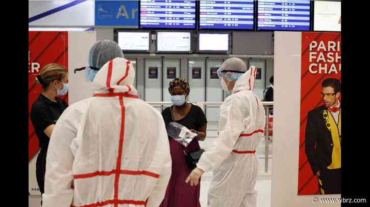France starts testing travelers from 16 nations for virus