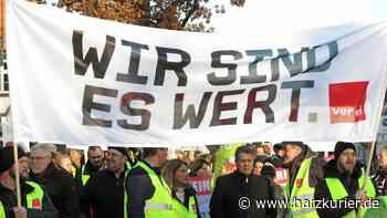 Asklepios-Klinik: Erster Streiktag in Seesen verläuft ruhig - HarzKurier