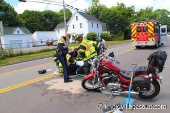 Motorcyclist injured in Rockland crash - By Stephen Betts - Courier-Gazette & Camden Herald