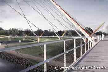 Futuristische Brücke über die Emscher: Baustart verzögert sich - Ruhr Nachrichten