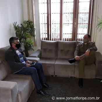 Novo Comandante da PM de Imbituba discute Turismo com secretário Giovane - Jornal Floripa