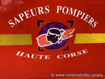 Corte : départ de feu et déjà 300 m2 de maquis brûlé - Corse Net Infos