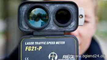 Freilassing: Lasermessung im Bereich des Freibads Freilassing Polizei - bgland24.de