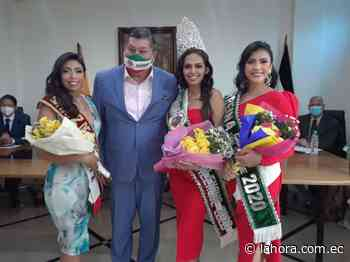 Angélica Cano es la Reina de Palenque - La Hora (Ecuador)