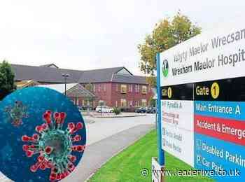 Here's how many coronavirus cases there are at the Wrexham Maelor Hospital - LeaderLive