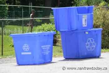 Renfrew rolling out new recycling program next week - renfrewtoday.ca