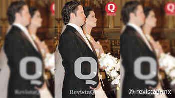 Revista Q Retro.- CRISTINA PADILLA Y SANTIAGO GARCIA UNEN SUS VIDAS EN MATRIMONIO - Revista Q Qué México